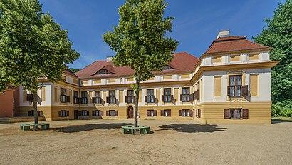 Schloss Caputh nerede, toplu taşıma ile nasıl gidilir - Yer hakkında bilgi
