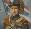 Painting of King Vajiravudh as a General of the Wild Tiger Corps.png