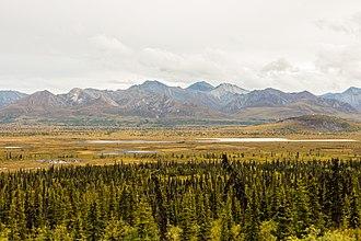 Sutton-Alpine, Alaska - Landscape in Sutton.