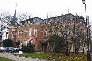 History of Białystok - Hasbach Palace