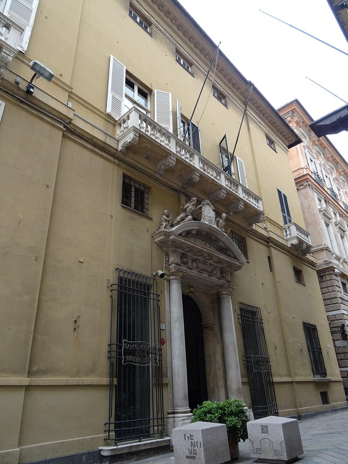 L Arte Di Salire Chiavari palazzo pantaleo spinola - wikipedia