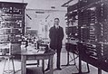 Palmgren vid provanläggningen 1915 TEKA0130484.jpg