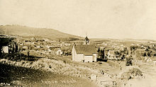 Panoramic Town View, circa 1915, Tekoa, Washington.jpg