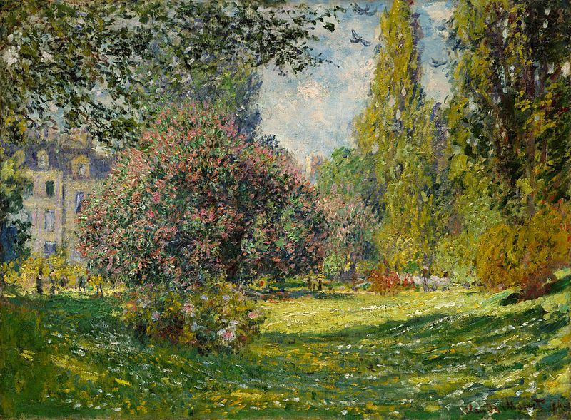 Cl. Monet, The Parc Monceau, 1876 [https://upload.wikimedia.org]