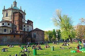 Basilicas Park - Image: Parco delle Basiliche San Lorenzo