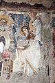 Parete palinsesto con madonna in trono con angelo (500-550 ca.), annunciazione (590 ca.), basilio e giovanni crisost. (post 649) e gregorio nazianz. e basilio (705-707) 03.jpg