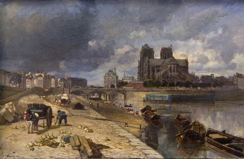 File:Paris, Notre-Dame vue du quai de la Tournelle.jpg