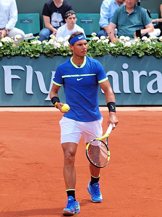 Rafael Nadal - Nadal in 2017 at the French Open