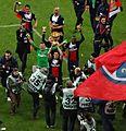 Paris Saint-Germain, vainqueur Coupe de la Ligue 2014.JPG