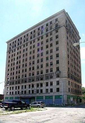 Park Avenue Hotel (Detroit) - Image: Park Avenue Hotel Detroit