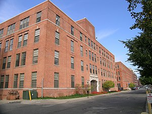 Parke-Davis - Building on the Parke-Davis Plant campus in Detroit
