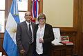 Parodi recibió al Embajador de Cuba en el CCK (21029180892).jpg