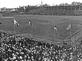 1923 South American Championship - Image: Parque central 1923