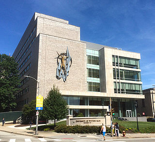 Parran Hall building in Pennsylvania, United States