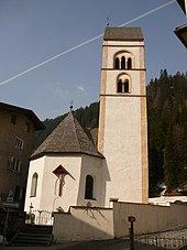La vecchia chiesa parrocchiale di San Valentino