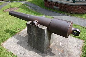 Parrott rifle - Parrott gun No. 107 (USS Kanawha), a 3.67-in (20-lb) Naval Parrott
