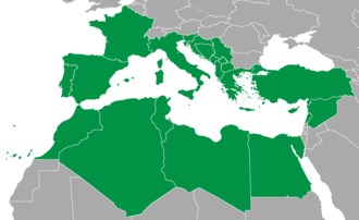 Mediterranean Games - Participating countries