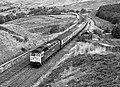 Passenger train near Blea Moor tunnel (geograph 4594577).jpg