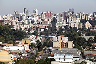 Passo Fundo Place in South, Brazil