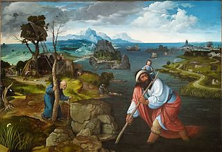 Landscape with St. Christopher