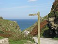 Path to Tintagel Castle, Cornwall (461193) (9458737812).jpg