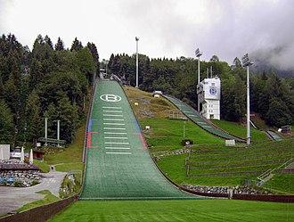 Four Hills Tournament - Image: Paul Ausserleitner Schanze