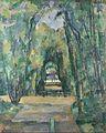 Paul Cézanne - Allée à Chantilly, 1888 (National Gallery, London).jpg