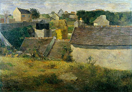 Paul Gauguin - Houses at Vaugirard - Google Art Project.jpg