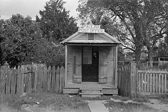 St. James Parish, Louisiana - Post office in Paulina, 1938