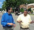 Pawlenty and Northey at state fair (4886327404).jpg