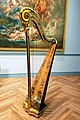 Pedal harp by Godefroi Holtzman, France, c. 1785, maple, spruce - Museum of Fine Arts, Boston - 20180922 164053.jpg