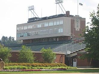 Peden Stadium - Peden Tower, before stadium renovating