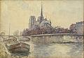 Pelletier P.J. - Watercolor - Vue de Notre-Dame de paris depuis les quais - 31x45cm.jpg
