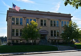 Pend Oreille County Courthouse; Newport, WA.JPG