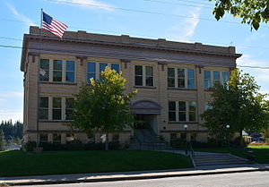Pend Oreille County, Washington - Image: Pend Oreille County Courthouse; Newport, WA