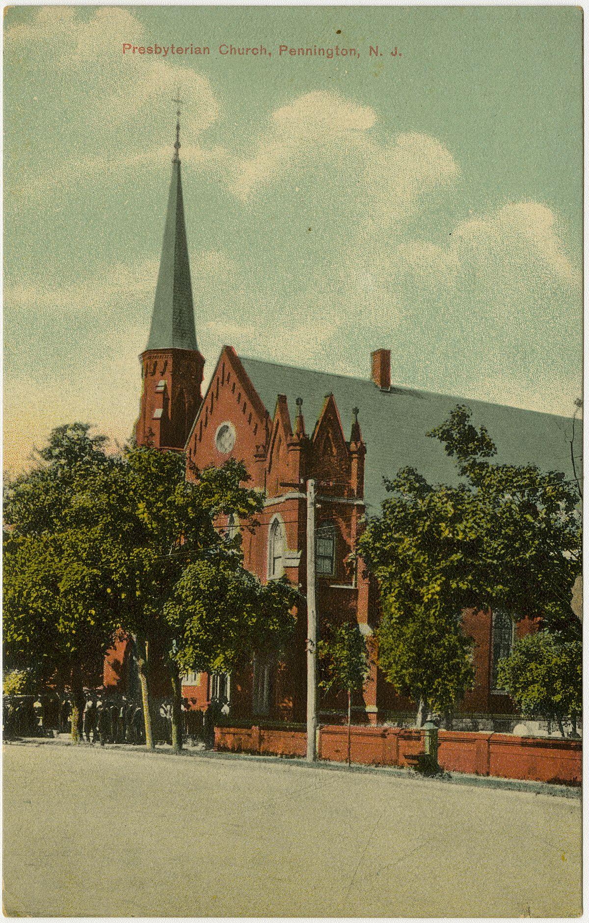 First Presbyterian Church (Pennington, New Jersey) - Wikipedia