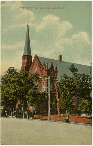 Pennington, New Jersey - First Presbyterian Church
