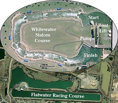How to get to Penrith Whitewater Stadium with public transport- About the place