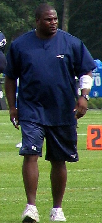 Pepper Johnson - Johnson in 2007 as a coach for the New England Patriots