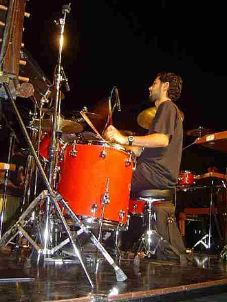 Percujove - Sergi in concert: 26 July 2006 in Figueres, Spain