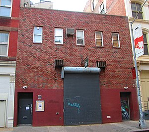 Wooster Street (Manhattan) - The Performing Garage in 2014