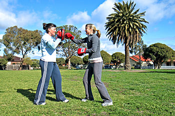 Personal Training at a Gym - Boxing Category:Fitness_training Category:Personal_training