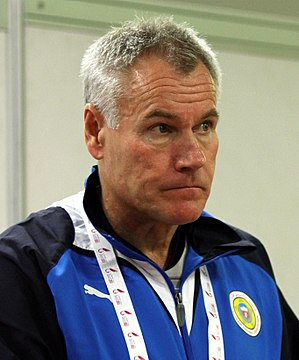 Peter Taylor (footballer, born 1953) - Taylor at the 2011 Pan Arab Games