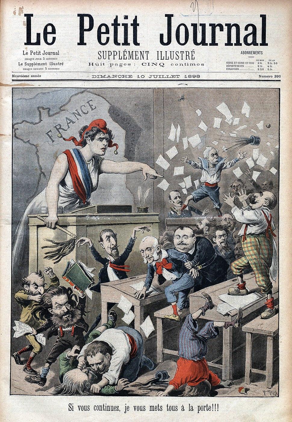 Petit Journal 18980710