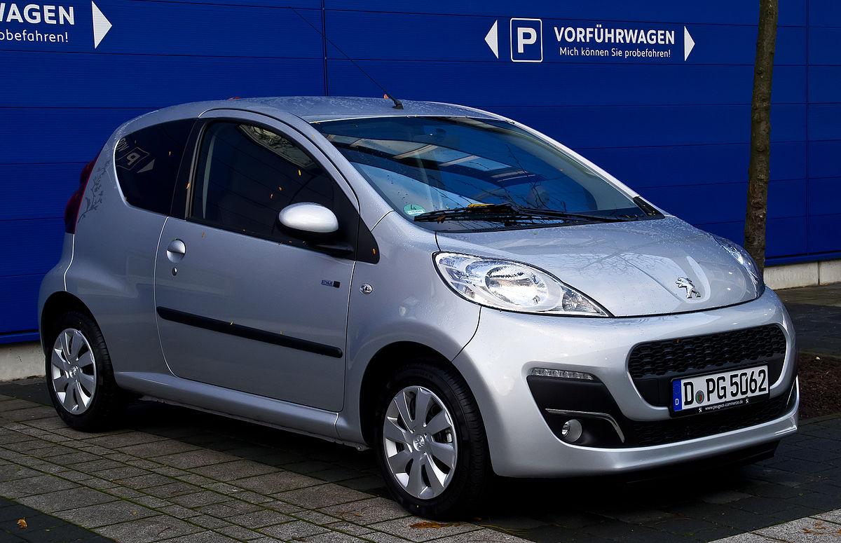 Hatchback >> Peugeot 107 - Wikipedia