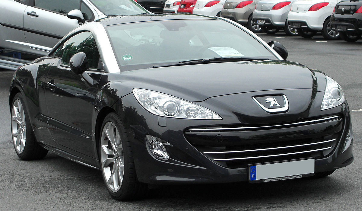 peugeot rcz wikipedia wolna encyklopedia. Black Bedroom Furniture Sets. Home Design Ideas