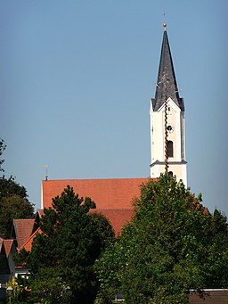 Die Pfarrkirche St. Nikolaus in Pleiskirchen
