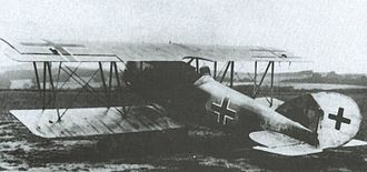 Pfalz D.XII - Captured Pfalz D.XII (serial 1970/18) in Canada after the war
