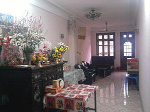 Tết - A family altar in Vietnam