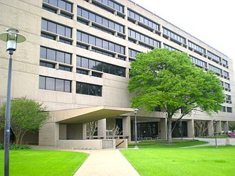 Philip Guthrie Hoffman - The Philip Guthrie Hoffman Hall at the University of Houston was named after the former president